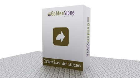 Goldenstone web design graphime